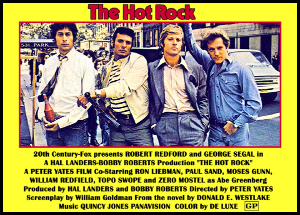 The Hot Rock Movie: Shades of 1972