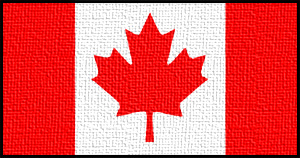 Canadian Flag: We stand on guard for thee.