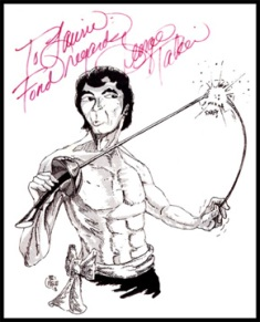 Autograph from the '76 Toronto Trek Convention