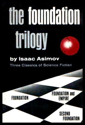 the foundation trilogy Cover Art