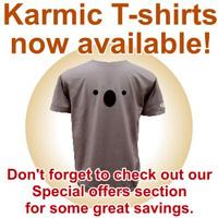 Ubuntu's new Karmic Koala T-Shirt