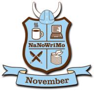 NaNoWriMo Crest: November