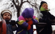kids in winter wear
