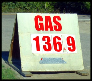 Gas Station Sandwich Board: $136.9