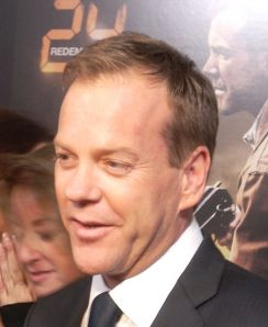 2008 photo of Kiefer Sutherland