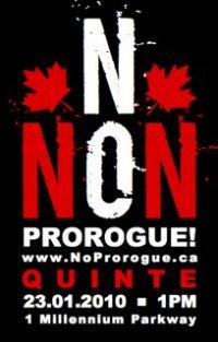 NO NON Prorogue