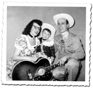 Country Music Family, Mom, Toddler, Dad and Guitar