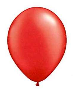 Ruby balloon