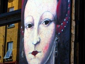 Mural portrays Elizabeth I