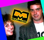 VeeJays Erica Ehm and JD (John) Roberts on Much Music