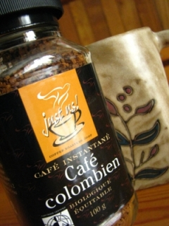 Columbian Coffee Bottle & a mug