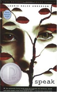 "cover art for Laurie Halse Anderson's book ""Speak"""