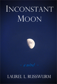 Inconstant Moon - photo of gibbous moon - Laurel L. Russwurm