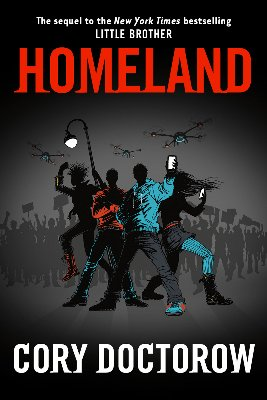 "Cory Doctorow's ""Homeland"" cover art"