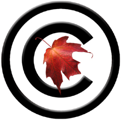 my Canadian copyright symbol