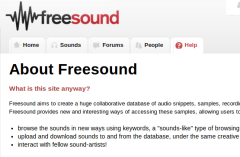 The Freesound Project