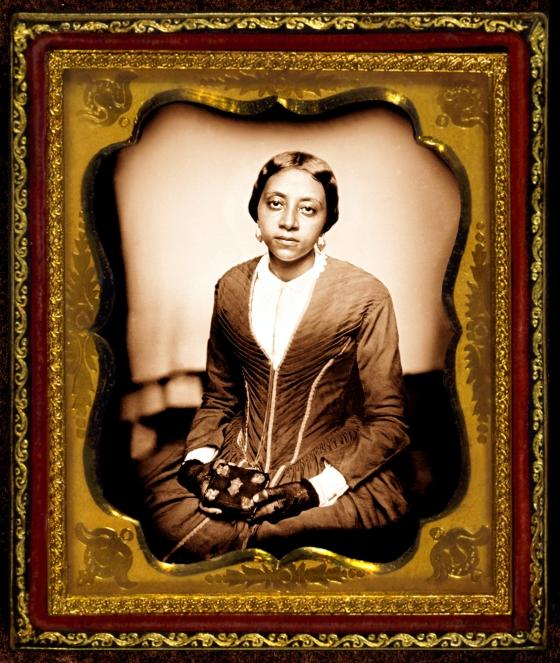 Mrs Sarah McGill Russwurm ~ Public Domain Portrait