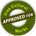 Approved for Free Cultural Works symbol