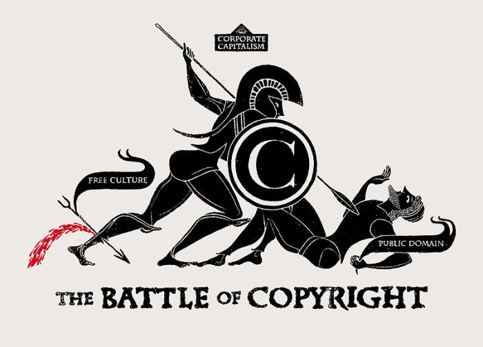 The Battle of Copyright - CC-By 2.0 Christopher Dombres