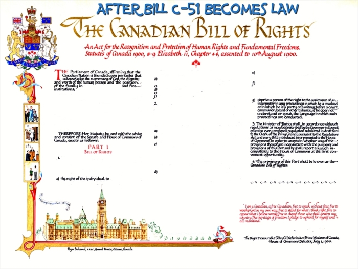 The Canadian Bill of Rights after Bill C-51