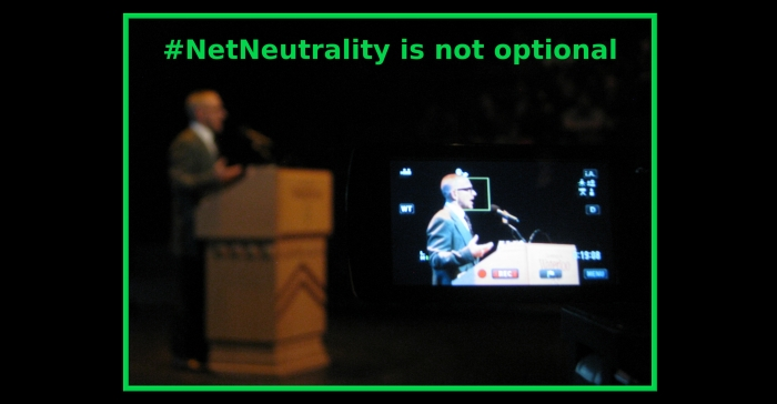 #NetNeutrality is not optional.